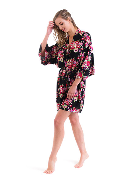 ed5b5dbfc4 Cotton Floral Robes - 6 colours · Bridal party robes