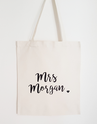 Newlywed Tote Bag