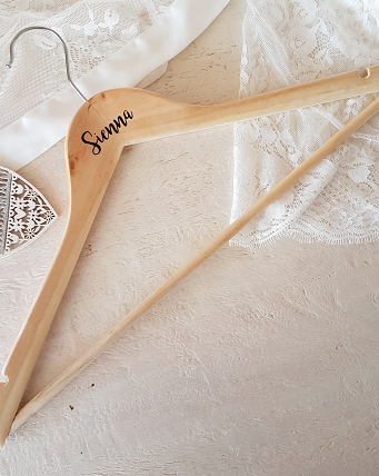 Personalised Bridesmaid hangers