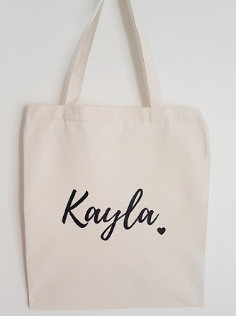 Personalised Bridesmaid Tote Bag