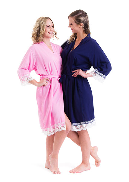 Bridal Robes - Cotton 3 colours