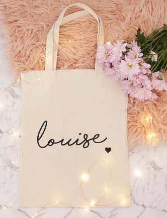 Name Tote Bag