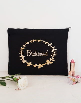 Wreath Make up Bag