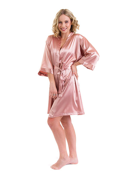 Classic Satin Robes – 7 Colours