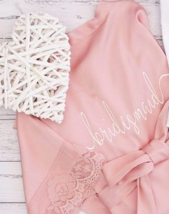 Love Lace – Personalised Robes – Various Font options