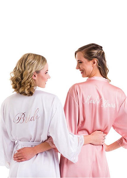 Love Lace - Personalised Robes - Various Font options
